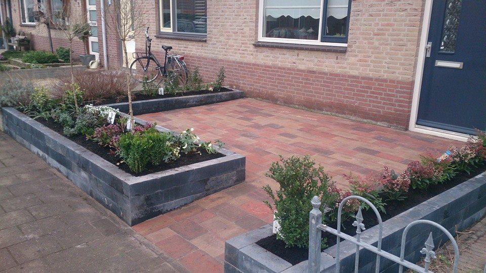 Projecten inspiratie voorbeelden tuinadviesbureau h for Voortuin voorbeelden